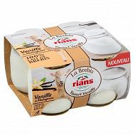 Rians yaourt de brebis à la vanille de Madagascar 4x115g