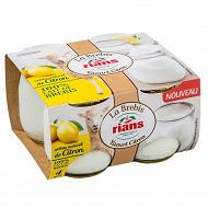 Rians yaourt de brebis citron 4x115g