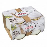 Rians le yaourt au lait de brebis 4x115g