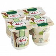 Rians yaourt de chèvre nature 4x120g