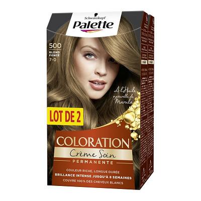 Saint Algue Palette crème colorante durable n°500 blond foncé x2