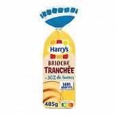 Harrys brioche tranchée -30% de sucres sans additifs 485g