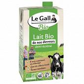 Le Gall Lait UHT 1/2 écrémé bio 1l
