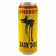 Dark Dog taurine energy drink boite 50cl