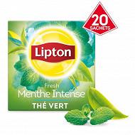 Lipton thé vert menthe intense x20 32g