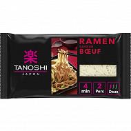 Tanoshi ramen saveur boeuf 360g