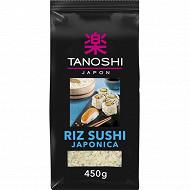 Tanoshi riz sushi 450g