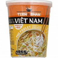 Tien Shan cup nouilles riz pho poulet 54g