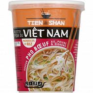 Tien Shan cup nouilles riz pho boeuf 54g