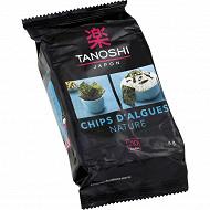 Tanoshi chips d'algues 4g