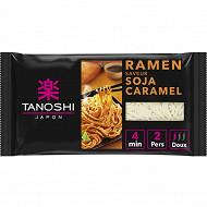 Tanoshi ramen soja caramel 360g