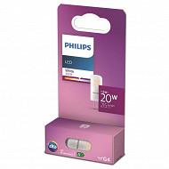 Philips ampoule led 20W G4 WH 12V RF ND boîte de 1