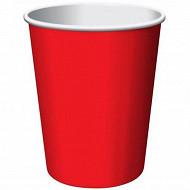 Gobelets a bière x10 rouge 470cl
