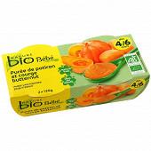 Nature bio pot potiron courge 4/6 mois - 2x120g
