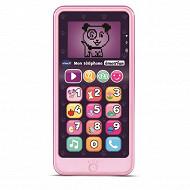 Mon téléphone émoti'fun rose