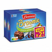Brossard mini brownie chocolat noisettes x8 - lot 2