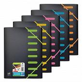 Oxford trieur student a4  8 positions coloris assortis