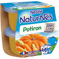 Nestlé Naturnes potiron dès 4/6 mois 2x130g