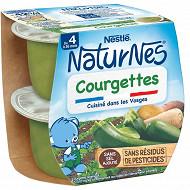 Nestlé Naturnes courgettes dès 4/6 mois 2x130g