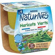 Nestlé Naturnes haricots verts dès 4/6 mois 2x130g