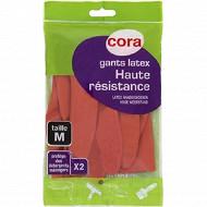 Cora gants de ménage haute résistance T7-7.5
