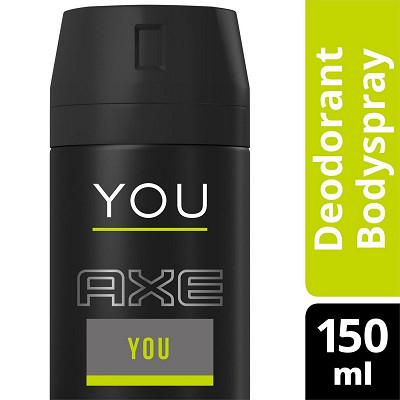 Axe Axe you déodorant body homme anti transpirant 150ml