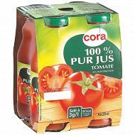 Cora pur jus de tomate bocaux 4 x 20cl