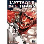 Manga - L'attaque des titans Volume 1