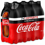 Coca-cola zero pet 7x1.75cl + 1 offerte