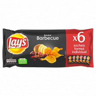 Lays chips barbecue 27.5g x6