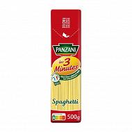 Panzani pâtes cuisson rapide spaghetti 500g
