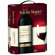 Roche Mazet IGP Pays d'Oc Cabernet Sauvignon rouge BIB 3L 12.5%vol
