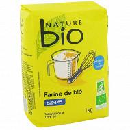 Nature bio farine de blé T65 1kg