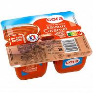 Cora crème dessert au caramel 4x125g