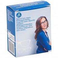 Lot de 30 lingettes pour lunettes