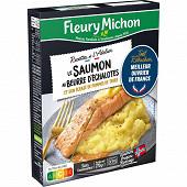 Fleury Michon Le saumon au beurre d'échalotes & écrasé de pomme de terre Joël robuchon 270g