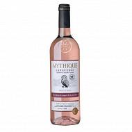 Mythique languedoc rosé 75cl 12.5%vol