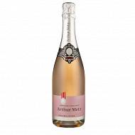 Crémant d'Alsace brut rosé Arthur Metz 12% Vol. 75cl