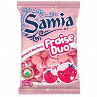 Samia bonbons sachet gélifiés fraise halal 200 g