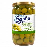 Samia olives vertes dénoyautées 300g
