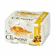Climont yaourt au lait de montagne arôme mirabelles de Lorraine 4x125g