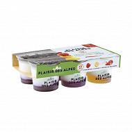 Savoie yaourt plaisir des Alpes aux fruits de saison 6x125g
