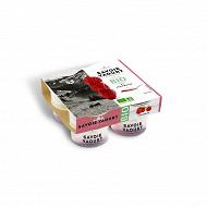 Savoie Yaourt yaourt bio bicouche framboise 4x125g