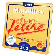 Lesire et Roger 1/4 de maroilles aop 200 g