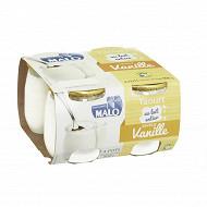 Malo yaourt saveur vanille 4 x 125g