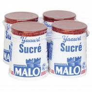 Malo yaourt nature sucré 4 x 125g