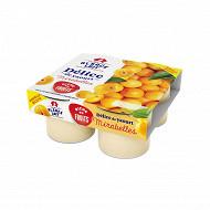 Alsace Lait délice de yaourt aux fruits d'Alsace mirabelle 4x125g