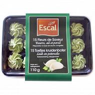 Escal 15 fleurs de beurre Bourgogne ail et fines herbes 110g