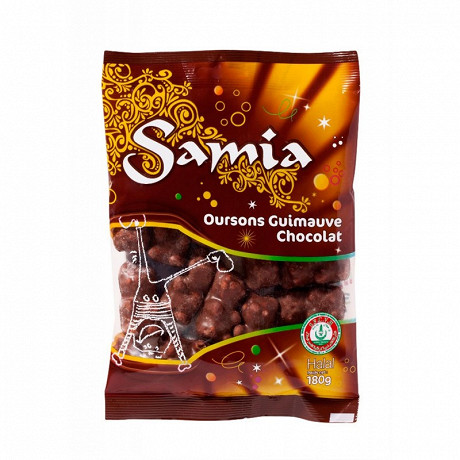 Samia oursons choco halal 180 g