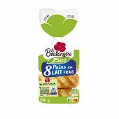 La Boulangère 8 pains au lait bio 280g